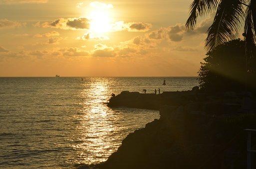 Beach, Fishing, Cuba, Havana, Sea, Landscape, Ocean