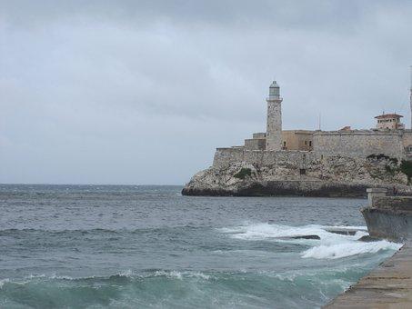 Castle, Fortress, Cuba, Havana, Architecture, Morro