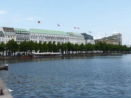 Hamburg, Hanseatic City, Architecture, Alster