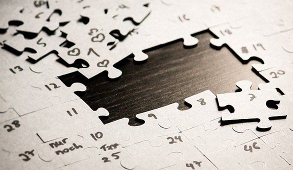 Puzzle, Love, Longing, Expectation, Wait, Time, Missing