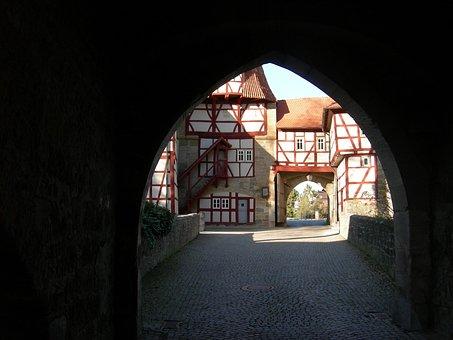 Iphofen, Rödelseer Gate, Lower Franconia