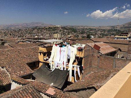 Ayacucho, Roof, Laundry, City