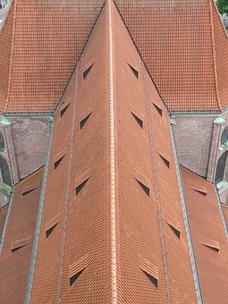 Roof, Building, Nave, Church, Church Roof, Roofing