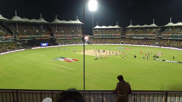 Cricket, Cricket Ground, Sport, Ground, Field, Stadium