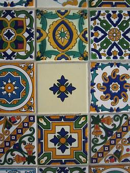 Tiles, Tile, Ceramic, Arabic, Pattern, Abstract