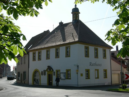 Town Hall, Schwarzach Am Main, Lower Franconia