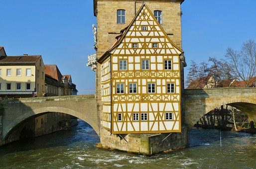 Bamberg, Town Hall, City View, Rottmeister Cottage