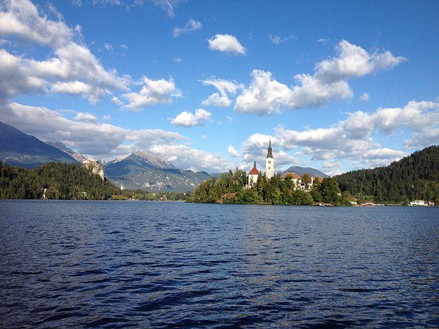 Bled, Lake, Island, Slovenia, Travel, Water, Landscape
