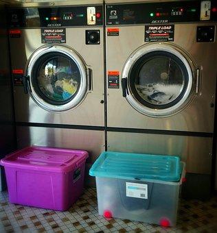 Laundry, Laundromat, Launderette, Washing, Wash