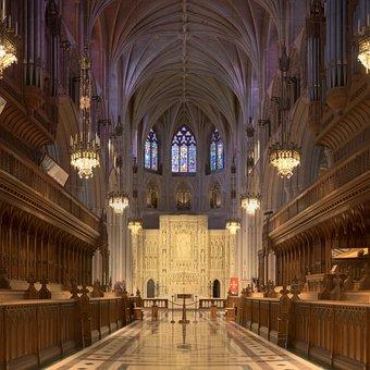Cathedral, Church, Washington National Cathedral
