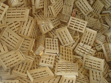 Wooden Boxes, Stack, Wooden Box, Pile, Wood, Chaos