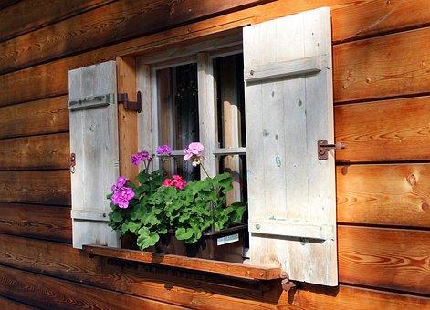 Shutters, Window, Wooden Windows, House Jewelry