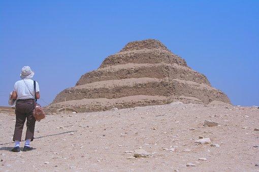 Egypt, Saqqara, Pyramid Of Djoser, Pharaoh, Ancient