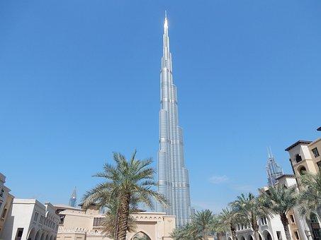 Burj Kalifa, Dubai, Emirates, Architecture
