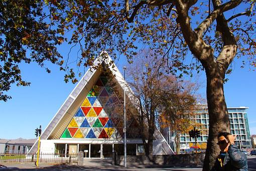 Cardboard Cathedral, City, Autumn, Beautiful, Love