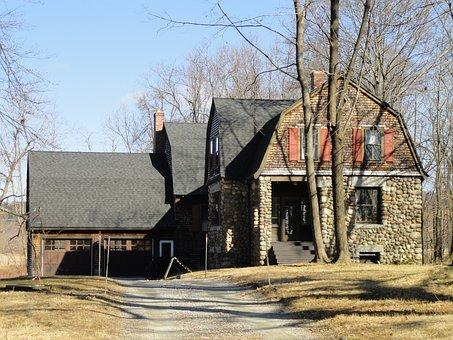 Bancroft, Gate, Lodge, Groton, Massachusetts, House