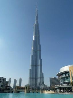 Burj Khalifa, Building, Dubai City, U A E