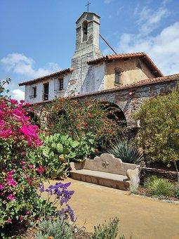 California Mission, San Juan Capistrano, Bench