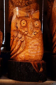 Animal, Art, Bird, Brown, Carved, Carving, Decoration