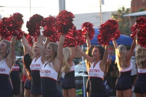 Cheer, Cheerleader, Girl, Women, Cheerleading, Female