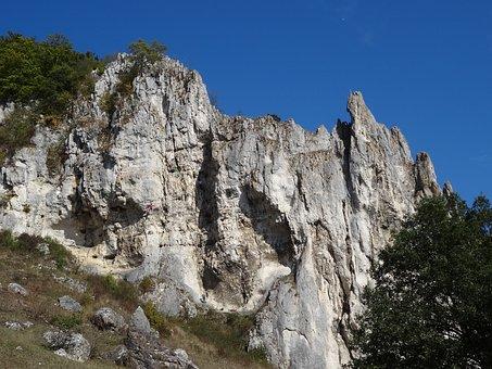 Rock, Climb, Konstein, Climbing Garden, Cliff, Mountain