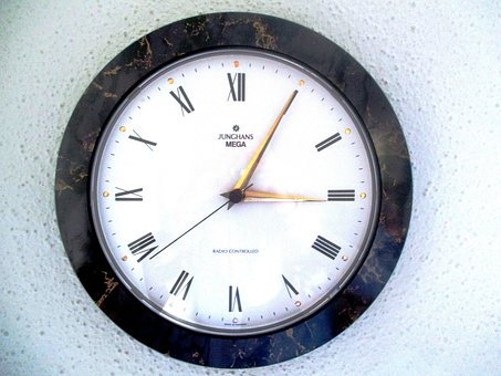 Time, Clock, Wall Clock, Radio Controlled