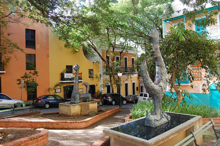 San Juan, Puerto Rico, Old Town, Colorful, Architecture