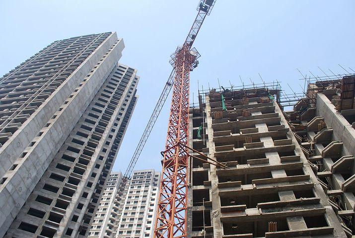 Crane, Buildings, Construction, Structure, Build, Urban
