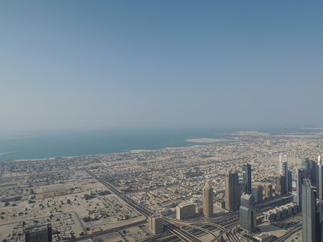 Dubai, Uae, Emirates, Emirate, Desert, View