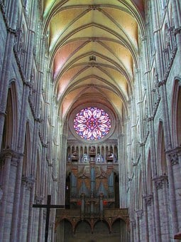 Amiens, France, Notre Dame, Cathedral, Architecture