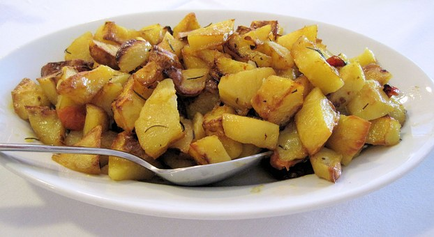 Potatoes, Rosemary, Herbed, Italian, Baked, Vegetable