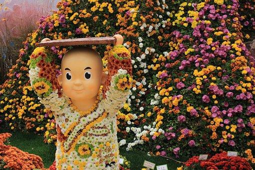 Jogye Temple, Chrysanthemum Festival, Korea, Seoul