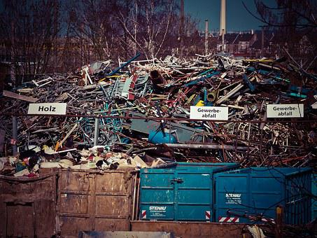 Scrap, Scrap Trade, Garbage, Recycling, Metal, Junkyard
