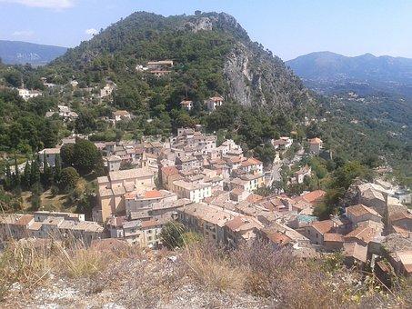 Southern France, Tourist, Landscape, France, Village
