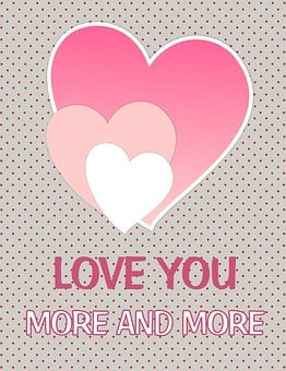Card, Love, Love You, Valentine, Gift Cards, Hearts