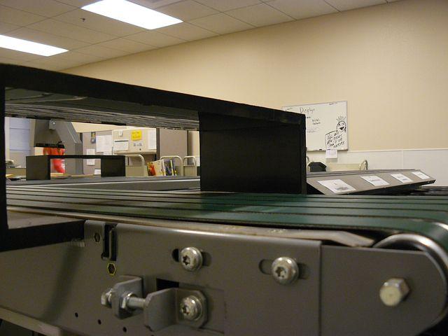Machine, Machinery, Belts, Conveyor, Workroom