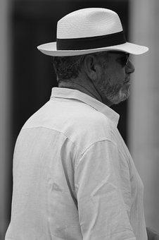 Man, Hat, People, Mr