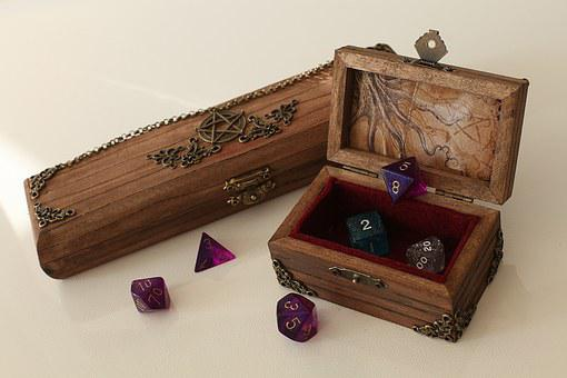 Cthulhu, Role Playing Game, Myth, Play, Exciting, Cube