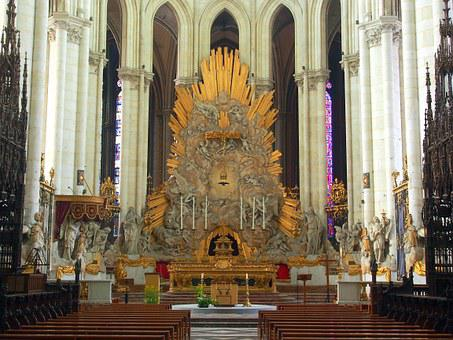 Amiens, Altar, Cathedral, Notre Dame, Catholic, Church