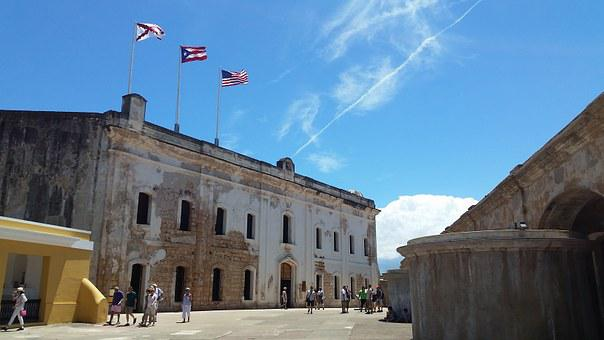 Old, San Juan, Fort, Castle, Historic, Landmark