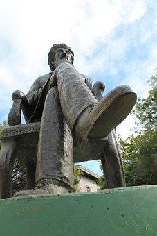 Statue, San Juan, Man, Person, Historic