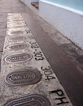 Street Detail, Puerto Rico, Old San Juan, Road, Puerto
