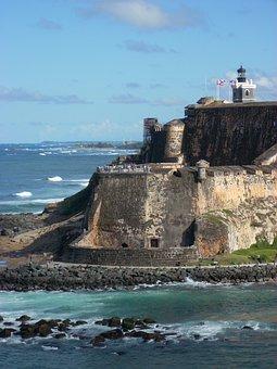 Stone Wall, Puerto Rico, Architecture, Old San Juan
