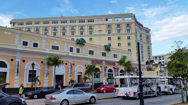 Street, Architecture, Puerto Rico, San Juan, Old