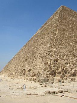 Pyramid, Egypt, Desert