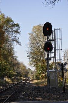 Railroad Tracks, Train Tracks, Rail, Train, Track