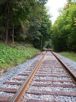 Tracks, Railroad, Locomotive, Train, Railway