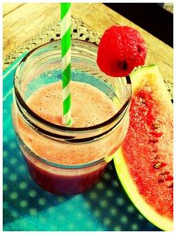 Watermelon, Red, Fruit, Sweet, Fresh, Food, Healthy
