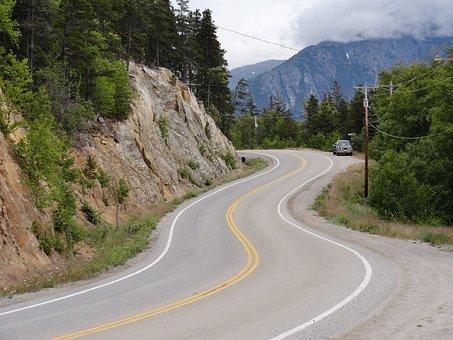 Road, Winding, Highway, Curve, Travel, Asphalt, Way