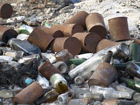 Garbage, Scrap, Waste, Pollution, Metal